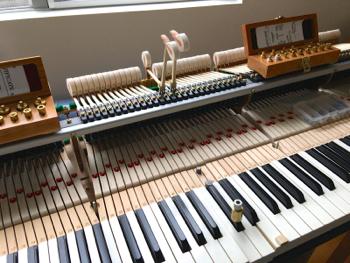BW基準の鍵盤鉛調整