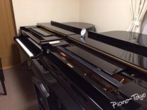 2台のグランドピアノ