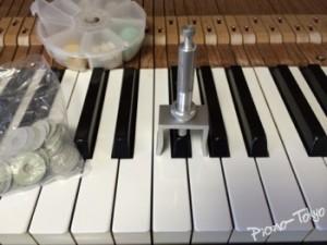 鍵盤ならし、あがき