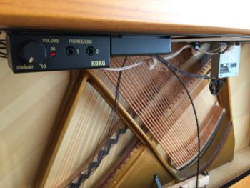 コルグ消音ユニット(ハイブリッドピアノ)