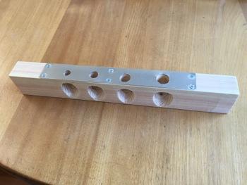 鍵盤鉛抜き治具