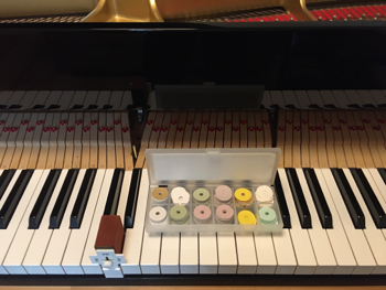 鍵盤あがき整調