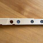 新しい鍵盤鉛の配置